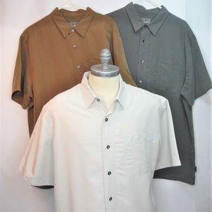 3 Royal Robbins Short Sleeve Relaxed Fit Men Shirt